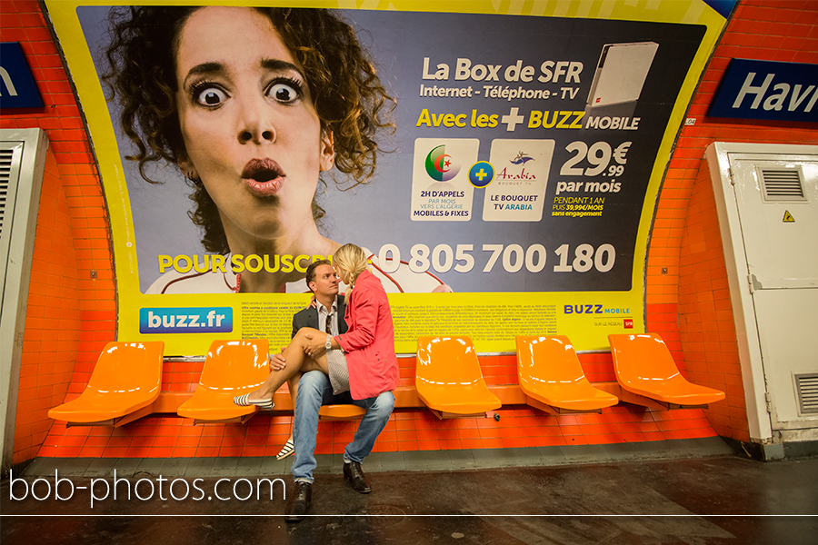 Loveshoot Paris Joost en Fleur 09