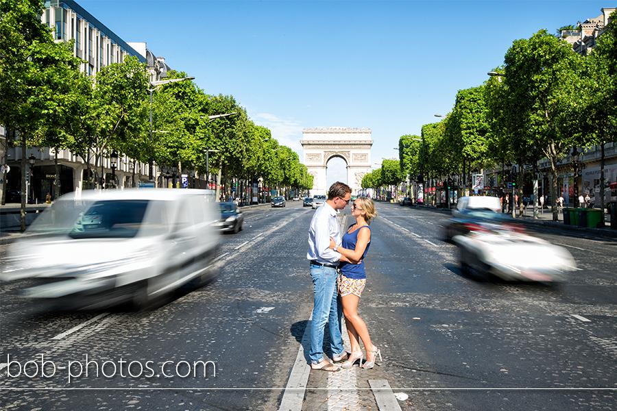 Champs-Élysées Loveshoot Parijs width=
