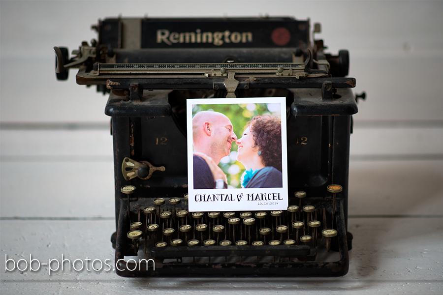 Trouwkaart Marcel en Chantal 02