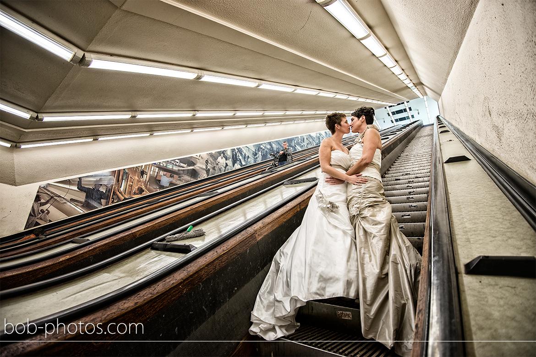 Bruidsfotografie Rotterdam Maastunnel 15