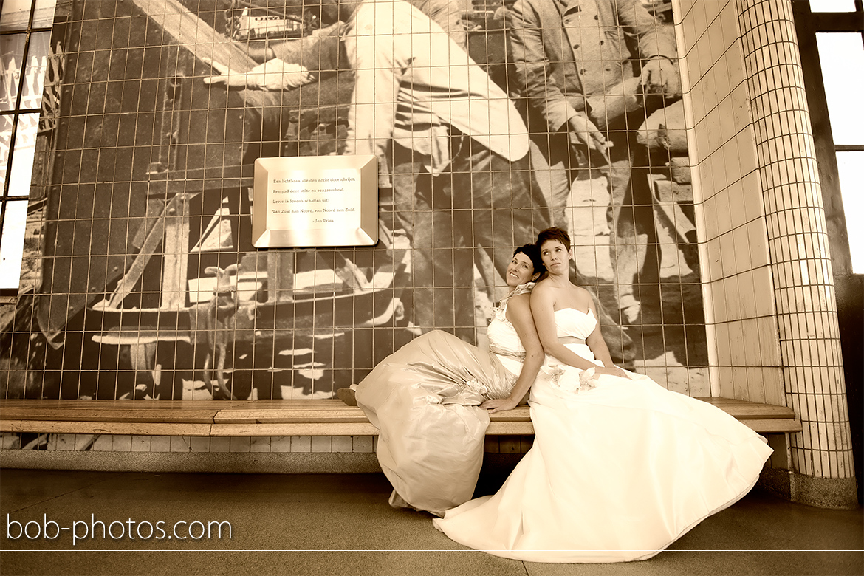 Bruidsfotografie Rotterdam Annemarie & Wilma 17