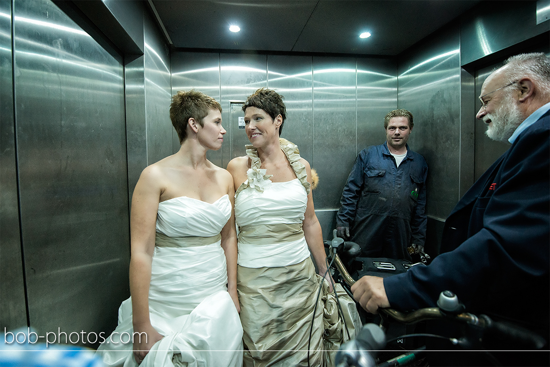 Bruidsfotografie Rotterdam Annemarie & Wilma 18
