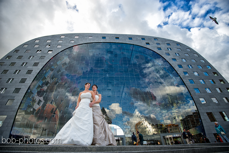 Bruidsfotografie Markthal Rotterdam 29