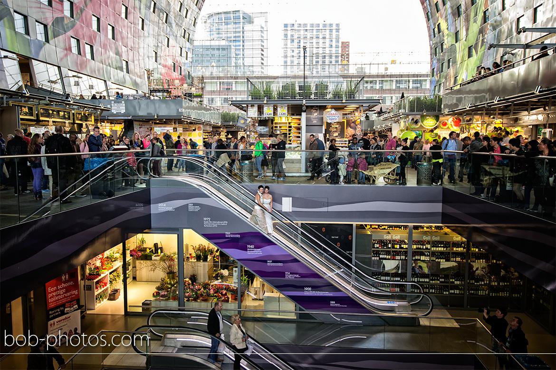 Bruidsfotografie Markthal Rotterdam 32