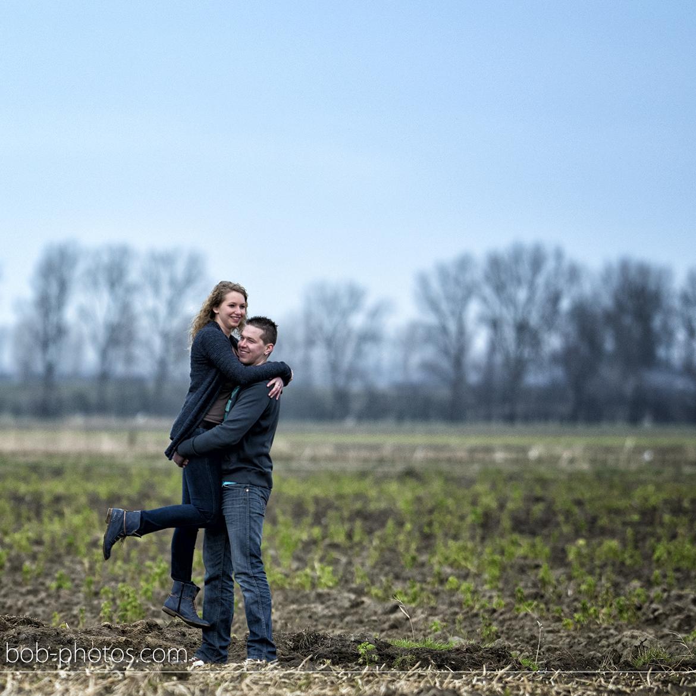 uitgestrekte landschap Zeeland Loveshoot Poortvliet Susan en Nick26