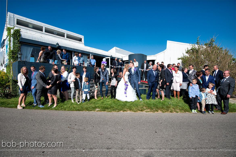 Brasserie de Zeester Bruidsfotografie Poortvliet Susan & Nick 46