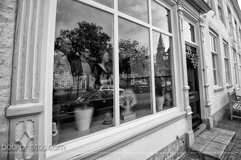 historische stadskern Bruidsfotografie Halsteren Okko & Nienke 14