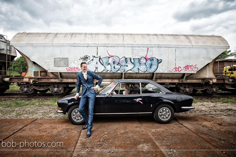 Peugeot 504 Coupé Bruidsfotografie Halsteren Okko & Nienke 23