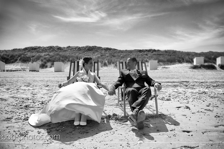 strand bij Westhoven Bruidsfotografie Renesse Leo & Ilona  21