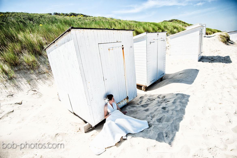 strand bij Westhoven Bruidsfotografie Renesse Leo & Ilona  22