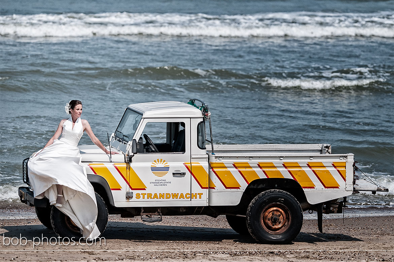 Strandwacht Bruidsfotografie Renesse Leo & Ilona  25