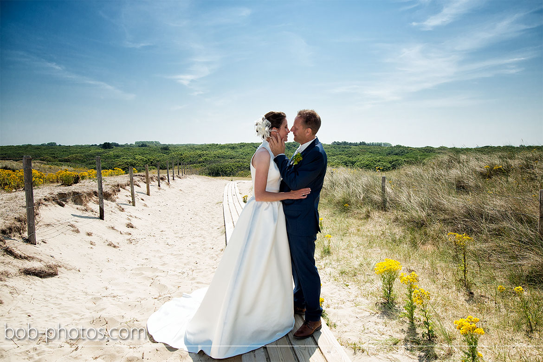 strand bij Westhoven Bruidsfotografie Renesse Leo & Ilona  27