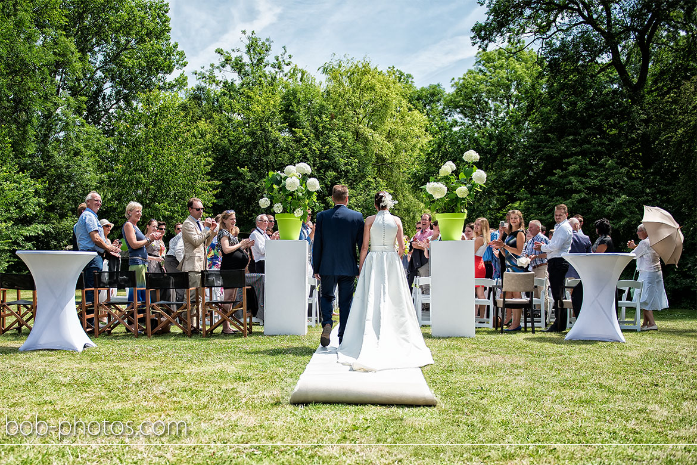 ceremonie Bruidsfotografie Renesse Leo & Ilona  35