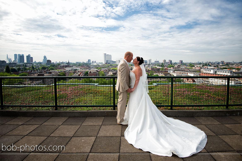 Skyline Bruidsfotografie Rotterdam Edwin & Debby 018