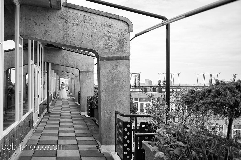 Groot Handelsgebouw Bruidsfotografie Rotterdam Edwin & Debby 019