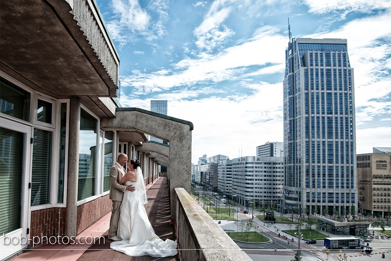 Groot Handelsgebouw Bruidsfotografie Rotterdam Edwin & Debby 021