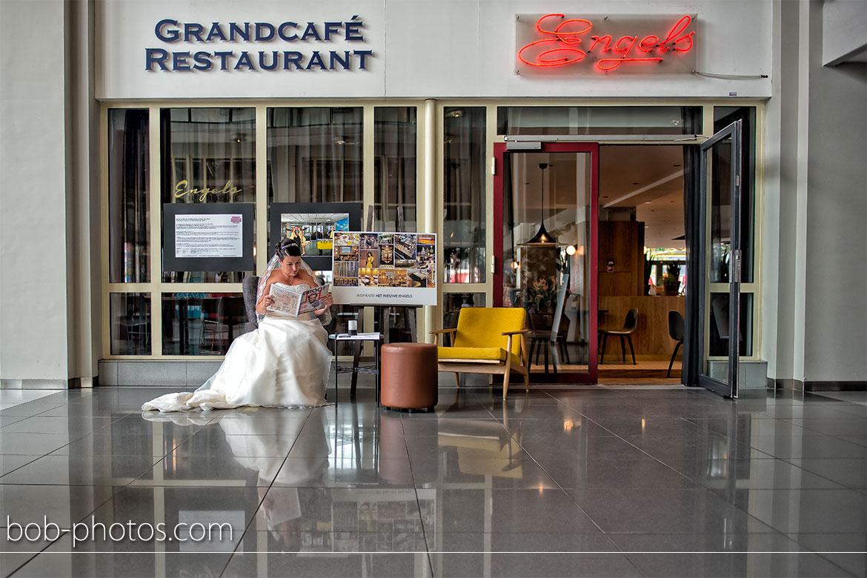 Engels Grandcafe Bruidsfotografie Rotterdam Edwin & Debby 028