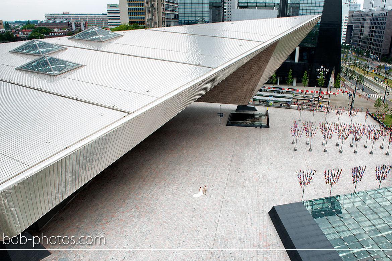 Centraal Station Bruidsfotografie Rotterdam Edwin & Debby 029