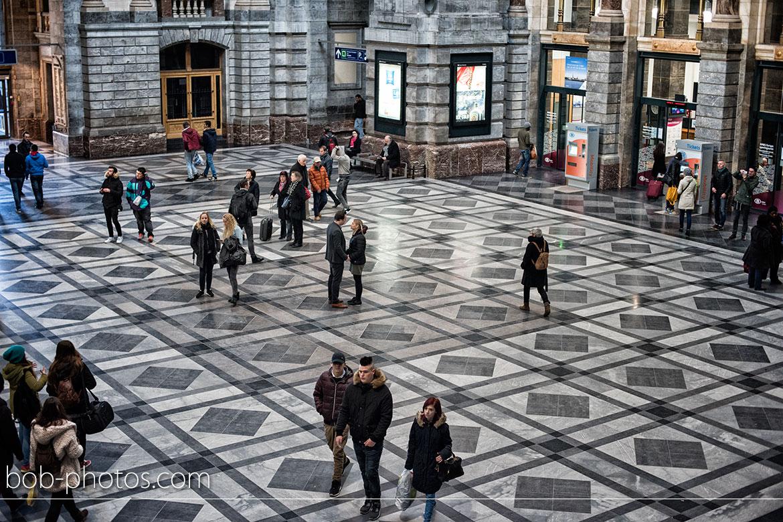 Centraal station Loveshoot Antwerpen Ralf & Astrid 29