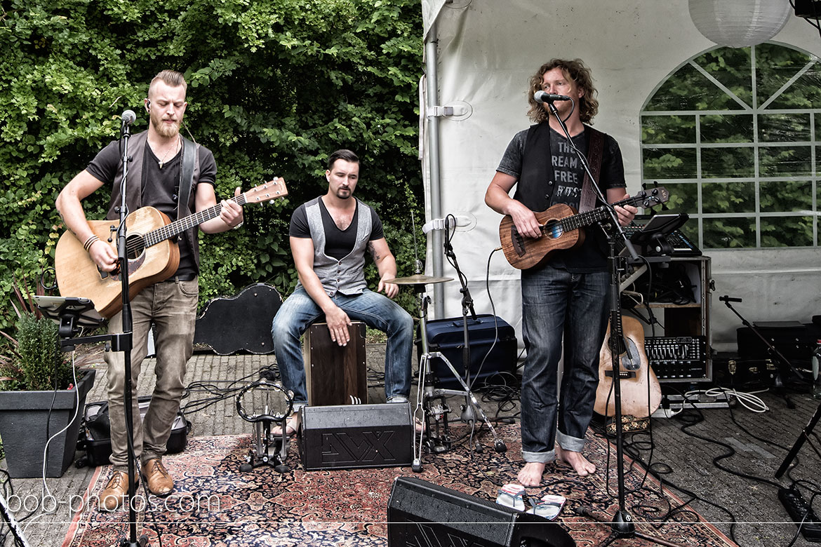 Woodworks coverband Bruidsfotografie Zeeland & Wendy39