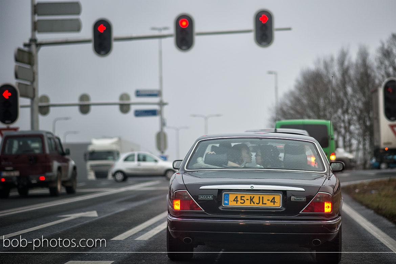jaguar sovereign Bruidsfotografie Tilburg
