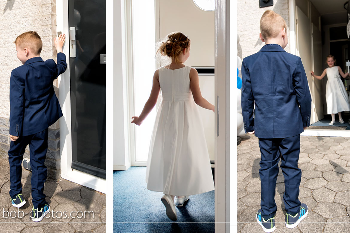 kids first look Bruidsfotografie Goes Tom en Caroline