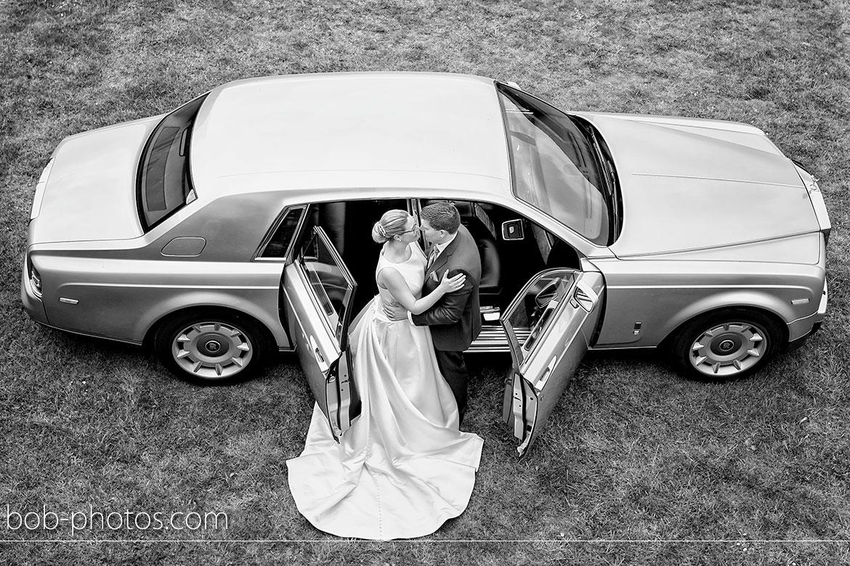 Rolls Royces Phantom Bruidsfotografie Goes Tom en Caroline