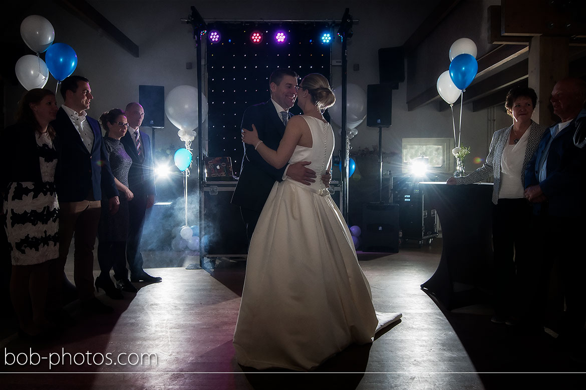 First dance Bruidsfotografie Goes Tom en Caroline