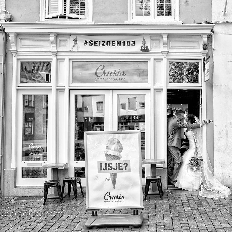 Ijssalon Crusio Bruidsfotografie Bergen op Zoom