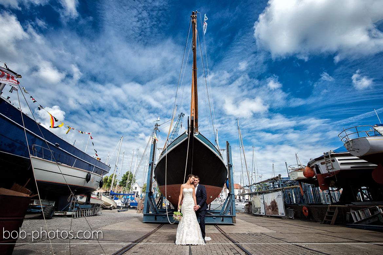Jachtwerf Peeman B.V. Bruidsfotografie Middelharnis