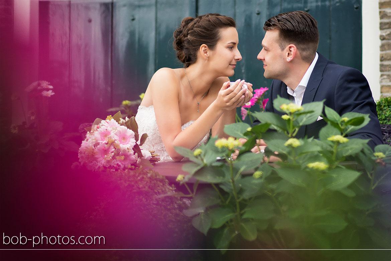 Brasserie 't Vingerling Bruidsfotografie Middelharnis