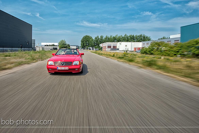 Mercedes SL 500 CABRIOLET V8 TYPE 129 Bruidsfotografie Kasteel Dussen