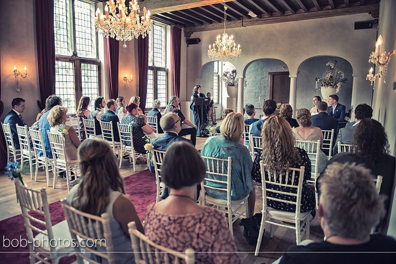 Trouwzaal Burgemeesterskamer Bruidsfotografie Kasteel Dussen