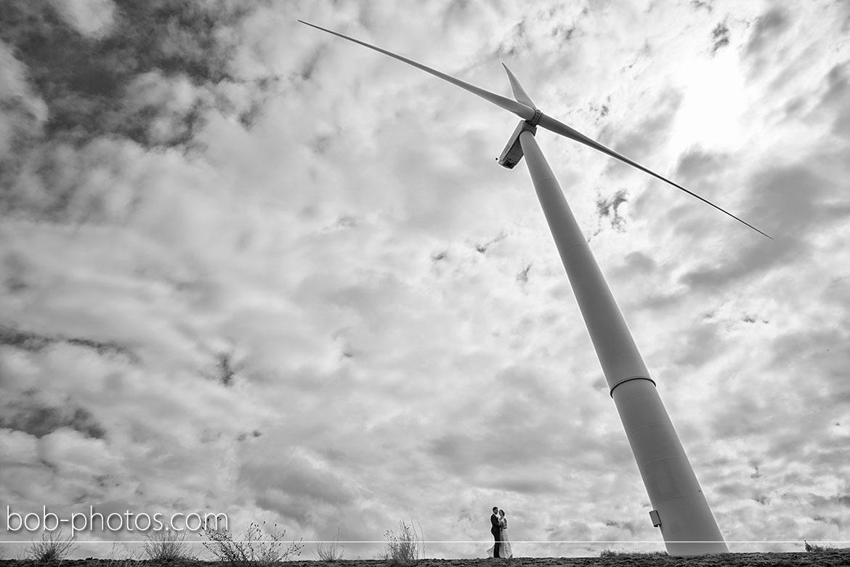 Bruidsfotografie Windmolenpark