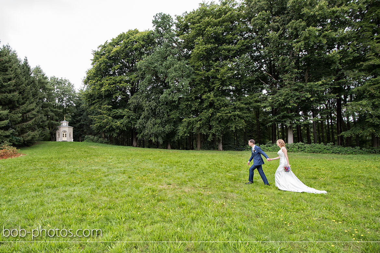 Bruidsfotografie Theehuisje Landgoed Mattemburgh