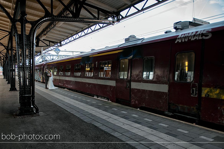 Station Roosendaal bruidsfotografie