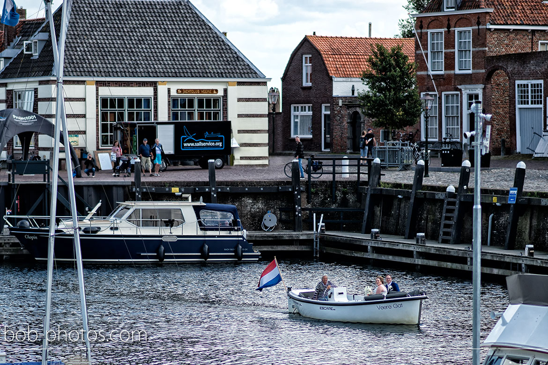 Sloep Bruidsfotografie Middelburg Veere