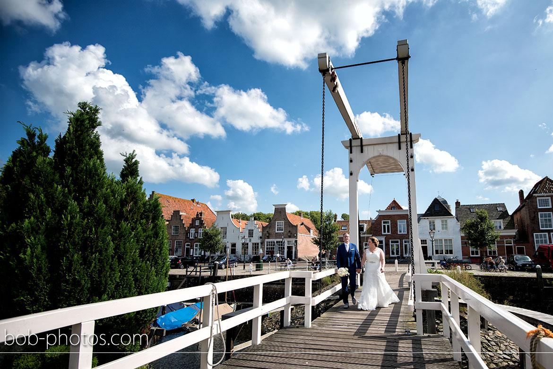 Beatrixbrug Veere Bruidsfotografie Middelburg