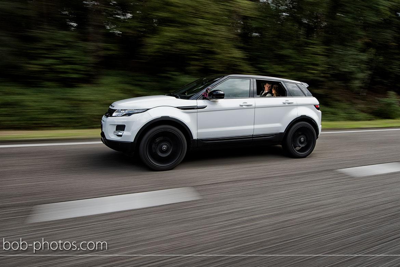 Range Rover Evoque Bruidfotografie Bergen op Zoom