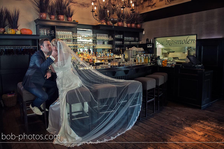 Restaurant de Rosmolen Bruidsfotografie Willemstad