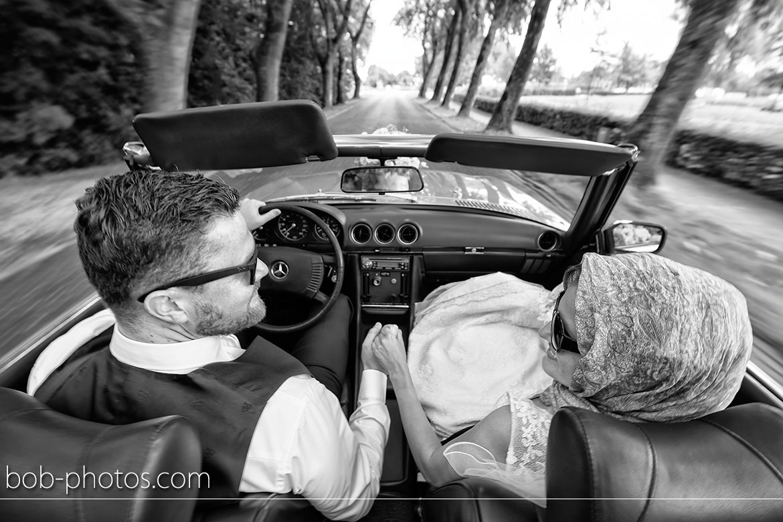 Zwart Wit Bruidsfotografie