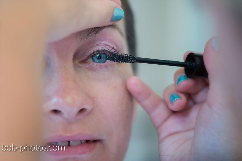 Voorbereidingen Bruid make-up