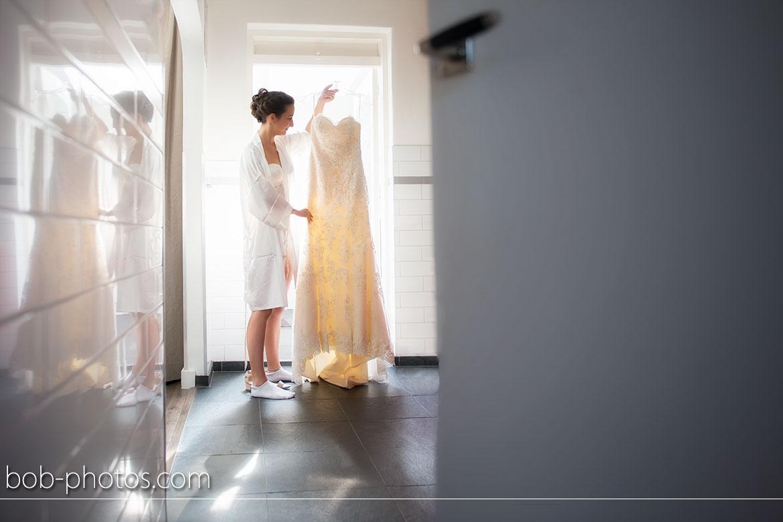 Voorbereidingen Bruidsjurk