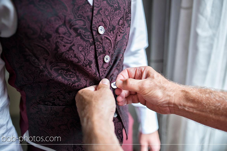 Voorbereidingen Bruidegom gilet