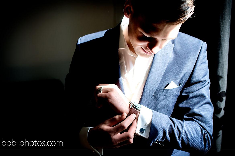 Voorbereidingen Bruidegom horloge