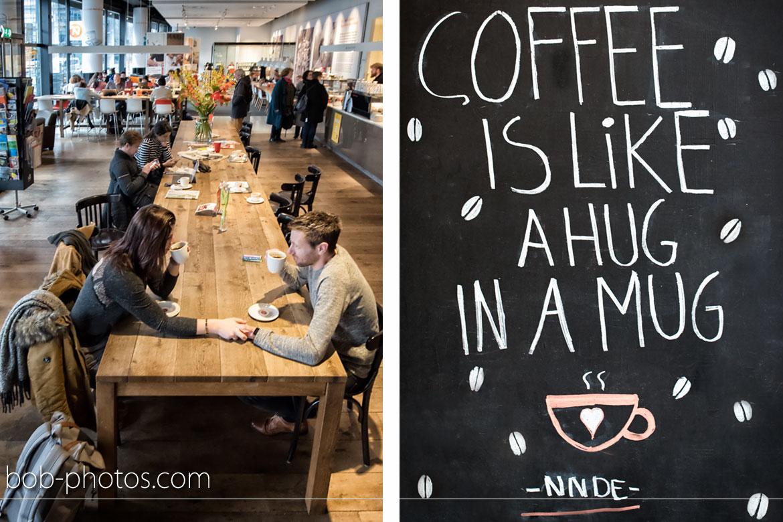 Douwe Egberts Café Loveshoot Rotterdam