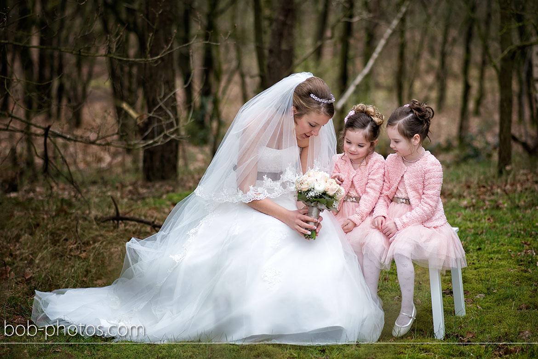 Bruidsmeisjes in het rose
