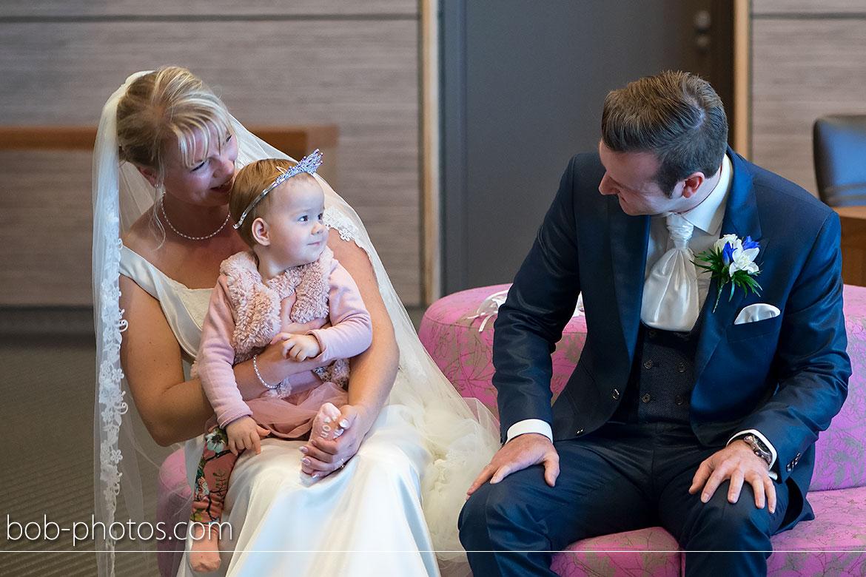 Bruidsmeisje met tiara