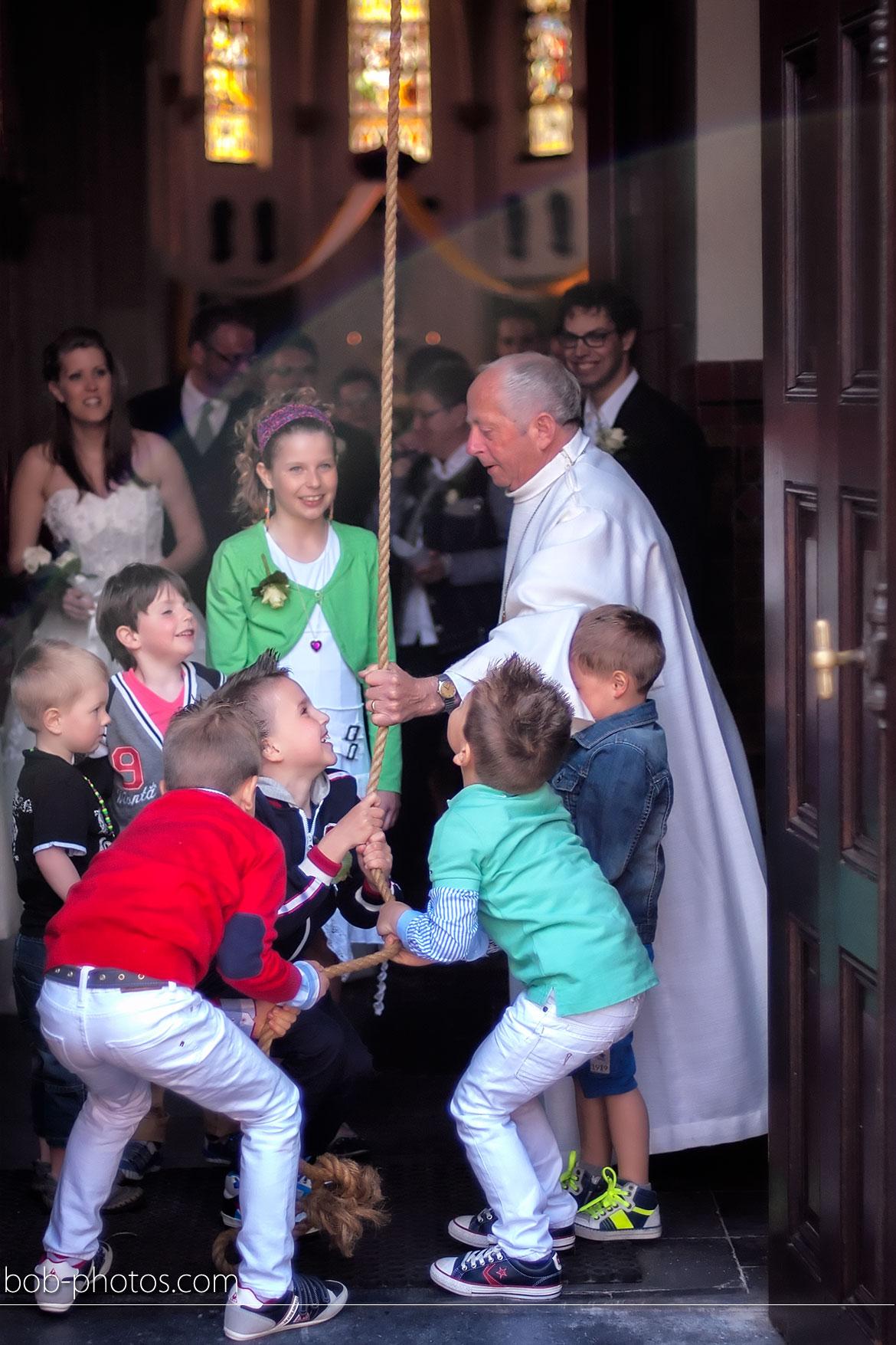 Bruidskinderen in de kerk