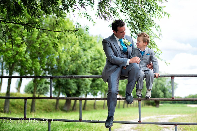 Stoere bruidsjongen